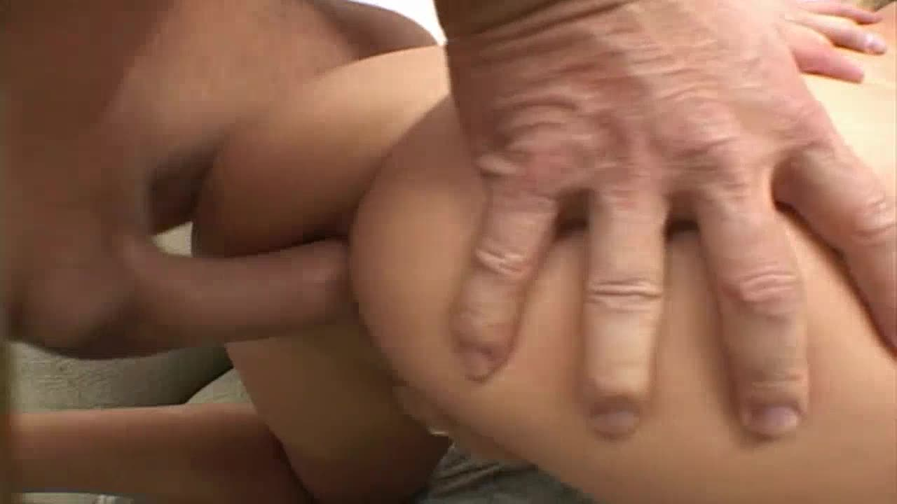 Double cum on face - sex video with a misterius blond babe