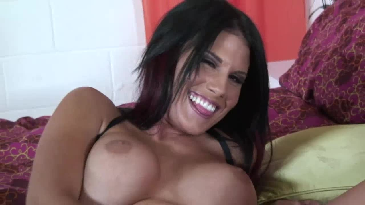 Fake boobs girl being fucked for free